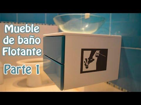 Como hacer un mueble de ba o flotante parte 1 youtube - Como hacer un mueble de bano ...