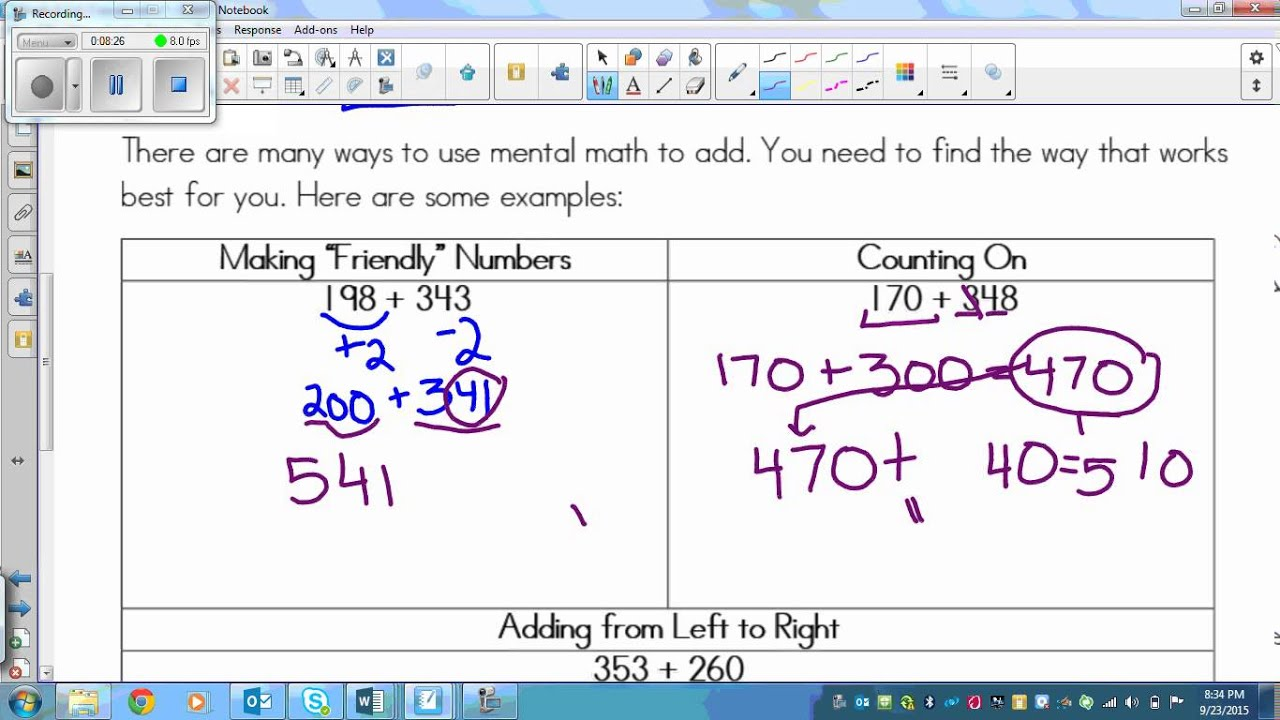 Worksheet 4 Math Wosenly Free Worksheet – Mental Math Worksheets Grade 7