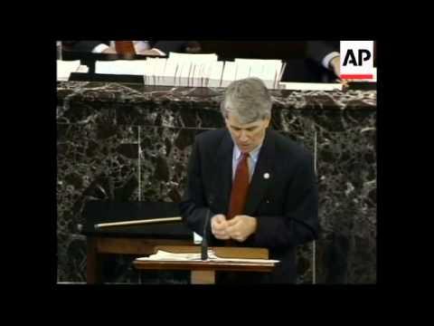 USA: PRESIDENT CLINTON IMPEACHMENT TRIAL (2)