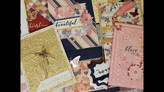 10 Card 1 Kit Crafty Ola Store Card kit of the Month April 39 18 39 39 Flutterby 39 39