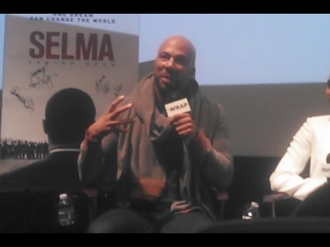 SELMA Q&A with Common, Ava DuVernay, Carmen Ejogo, Henry G. Sanders