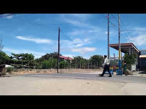 PNR Maintenance Train crossing at Muntinlupa Station
