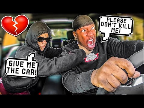 I Followed My HUSBAND DISGUISED As A ROBBER PRANK!!