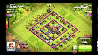 Clash of Clans TH8 Farming Attacking Strat.