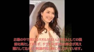橋本マナミ、天女のように美しい入浴写真を披露 ファン「寝れません」「...