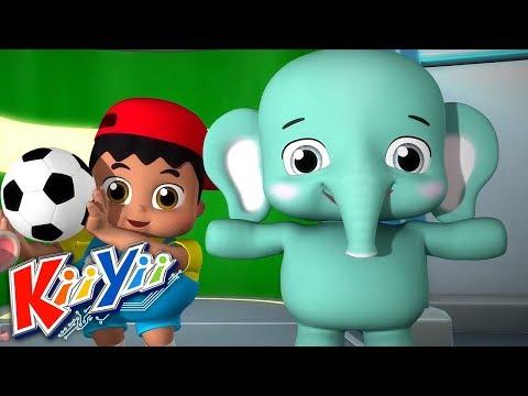 Grand et Petit | Chansons Pour Bébé | ABCs 123s | Dessins Animés | KiiYii En Français