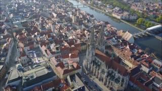 Regensburg in 4k - DJI Mavic Pro