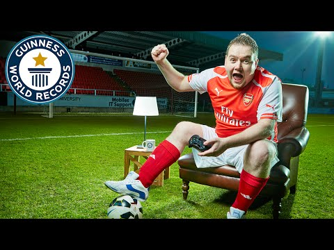 Longest FIFA video game marathon - Guinness World Records