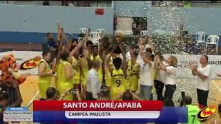 Final (III) -Campeonato Feminino de Basquete  :  Santo André x Campinas