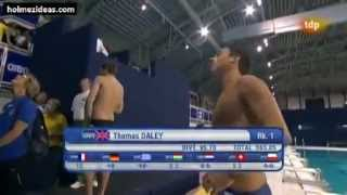 Tom Daley - Dive 6 - European Championships Eindhoven 2012, Men 10m Platform Final