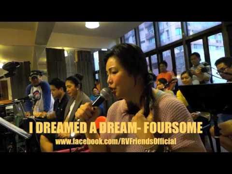 I DREAMED A DREAM - Regine Velasquez (FOURSOME Concert BTS)