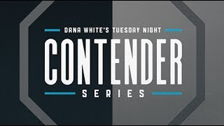 Dana White's Tuesday Night Contender Series: Pre-fight Show