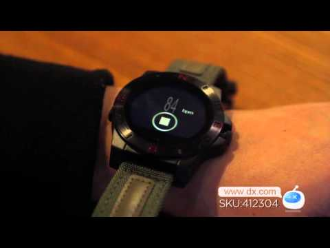 Dx : N10 MTK2501 Bluetooth 4.0 Smart Watch w/Compass Barometer