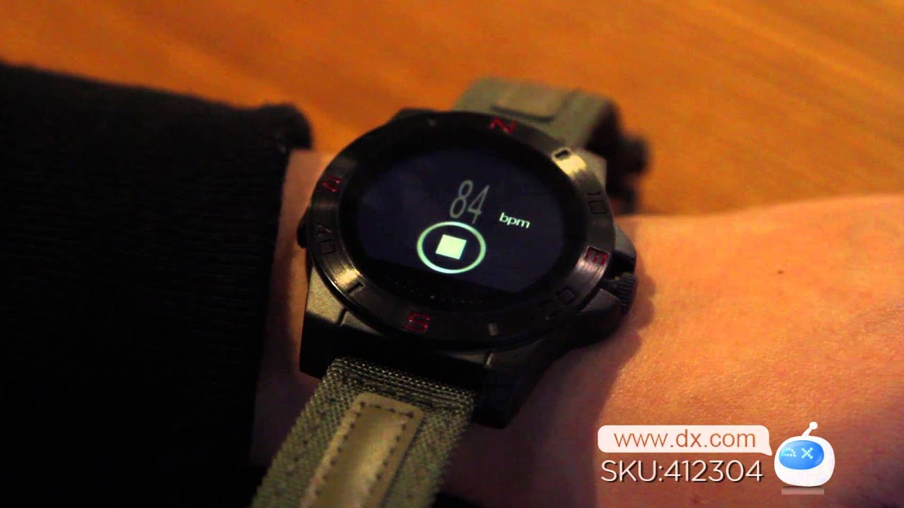 0ffd3473c2b8 Dx   N10 MTK2501 Bluetooth 4.0 Smart Watch w Compass Barometer - YouTube