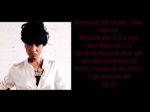 Nicki Minaj Girlfriend Lyrics Video