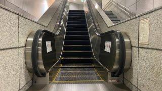 8X エスカレーター 【HITACHI】【TOSHIBA】【DAIKO】【MITSUBISHI】仙台市営地下鉄 南北線 八乙女駅から泉中央駅へ