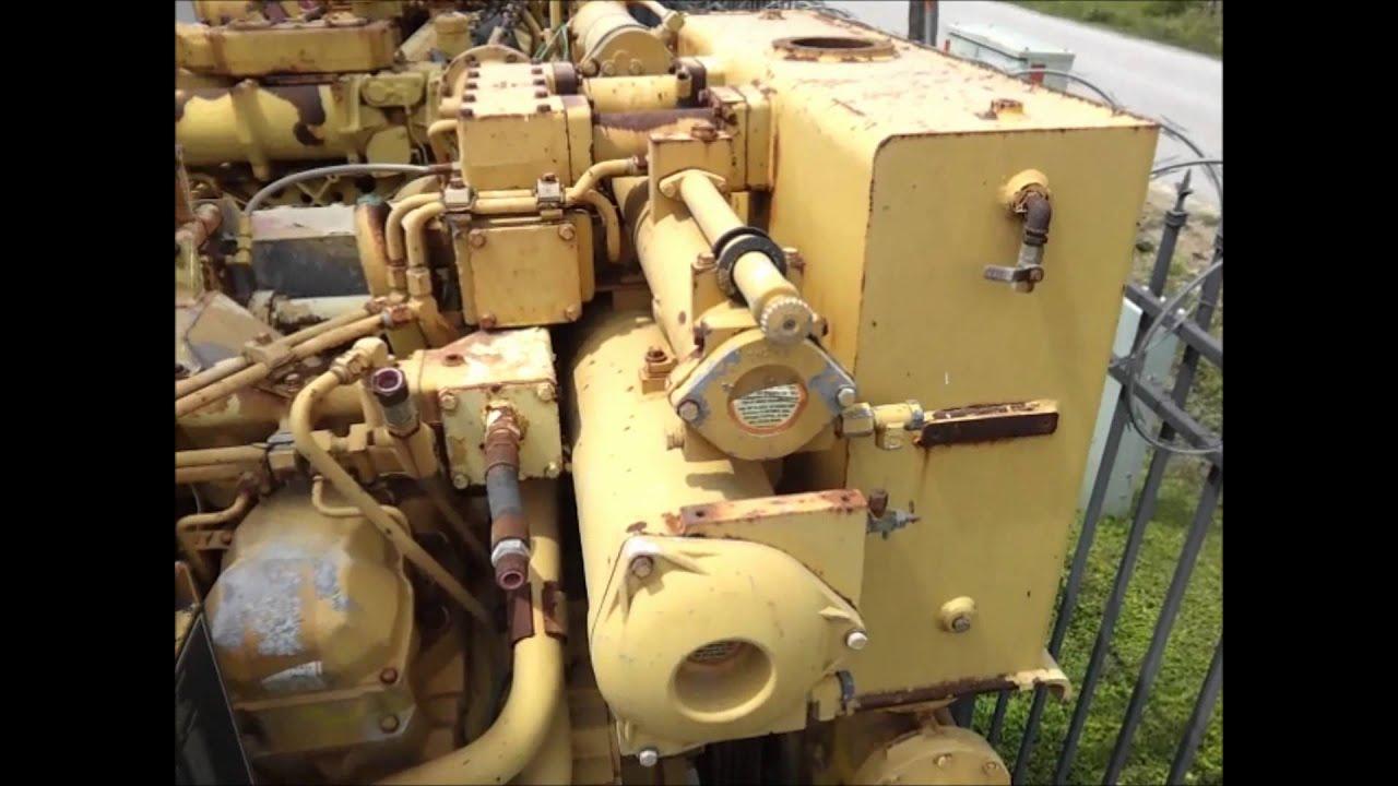 Caterpillar Bsel Hp Rpm Marine Engine