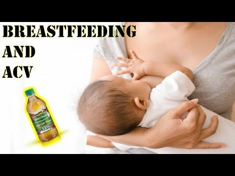 drinking-apple-cider-vinegar-while-breastfeeding