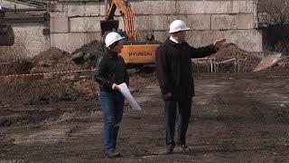 """Строительство тепличного комплекса """"Новый"""""""