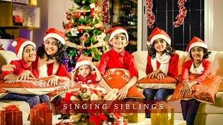 Carol of the Bells | Feat: Joyful 6 (Singing Siblings) | Christmas Carol Songs 2017