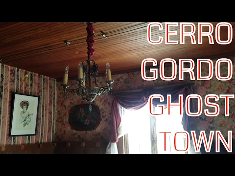 Cerro Gordo Ghost Town