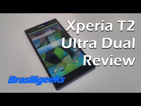 Sony Xperia T2 Ultra Dual - Análise e Testes