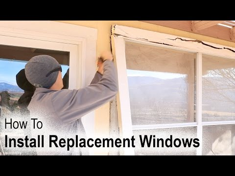 how-to-install-a-replacement-window-on-a-house-with-wood-siding