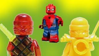 Ниндзяго атакует! Человек паук, Бэтмен, Джокер - Новые мультики для детей 2017. Лего #мультфильмы