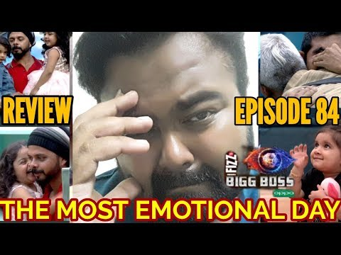 BIGG BOSS SEASON 12 | EPISODE 84 | 9 DECEMBER 2018 | REVIEW | THE MOST EMOTIONAL DAY