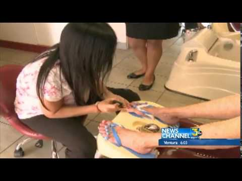Two Nail Salons Targeted by Distraction Style Burglary