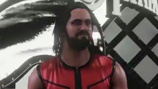 WWE 2K18 Seth Rollins entrance at wrestlemania 34
