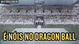 Arena Corinthians aparece em filme do Dragon Ball Z