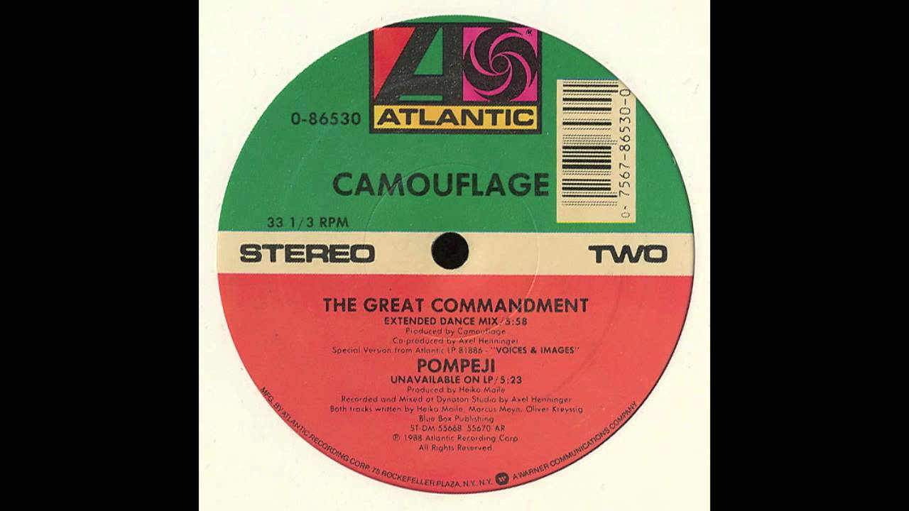 0c7c822f4d Camouflage - The Great Commandment (Extended Dance Mix) - YouTube