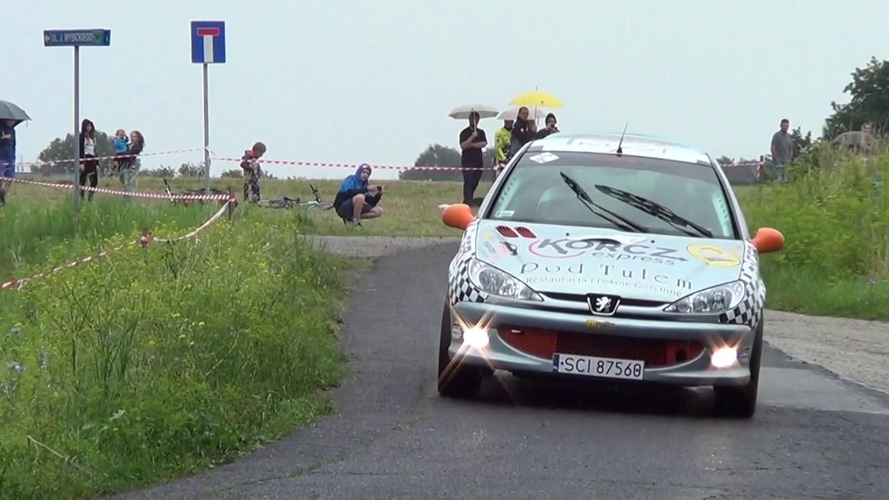 4 Runda RPŚl 2017 – Jastrzębie-Zdrój – Artur Podżorski / Agata Legierska – Peugeot 206