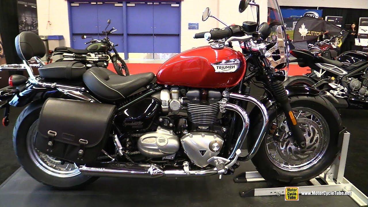 2018 triumph bonneville speedmaster 1200 walkaround 2018 montreal motorcycle show youtube. Black Bedroom Furniture Sets. Home Design Ideas