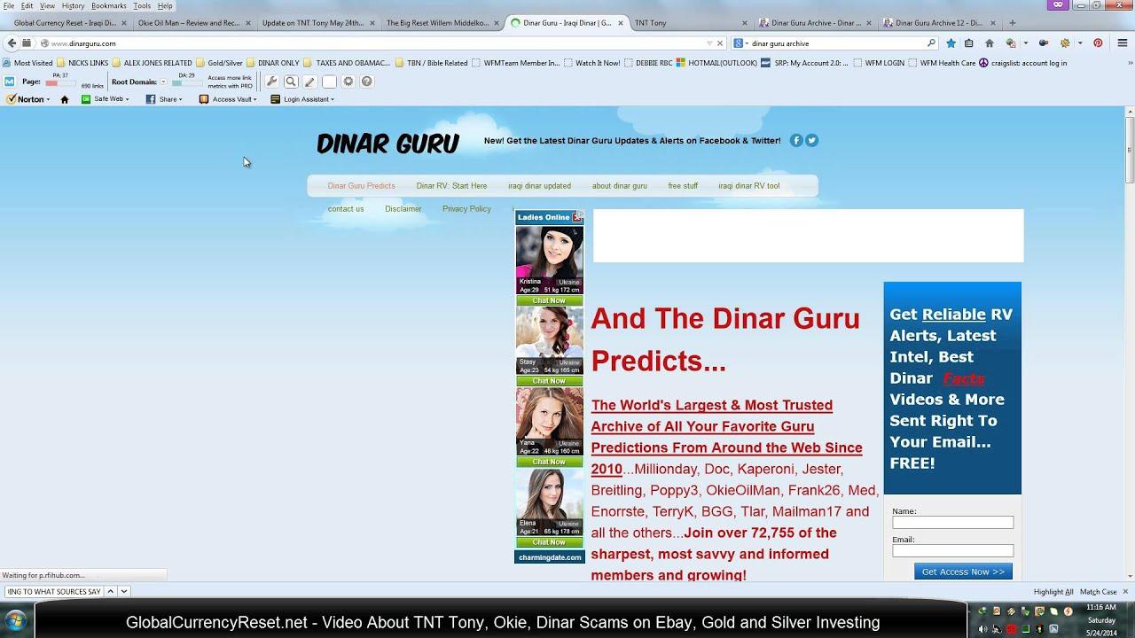 Tnt Dinar Guru Tony Renfrow Exposed