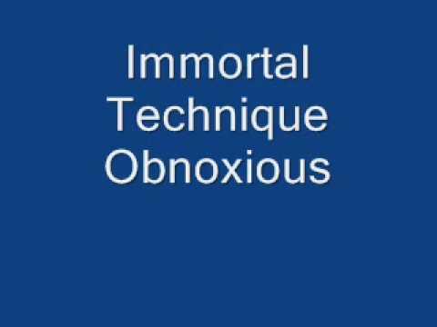 Immortal Technique- Obnoxious