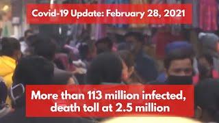 Coronavirus Update Feb 28: India recorded 16,752 new Covid cases, Arunachal turns covid-19 free