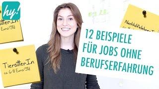 Berufe ohne Ausbildung - 12 Beispiele