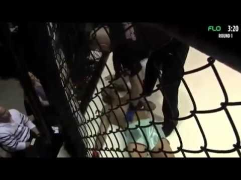 MMA Fighter Rushed To Emergency Room After Power Bomb Body Slam Knockout