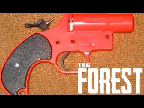 THE FOREST - A ARMA DE FLARE E A PRIMEIRA CAVERNA
