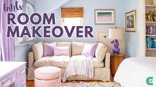 Tween Girls Room Makeover