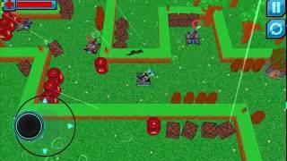 Power Tanks 3D - Cyberpunk Shooter War Game