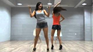 Repeat youtube video SISTAR19 'Ma Boy' mirrored Dance Practice [Eng Sub]