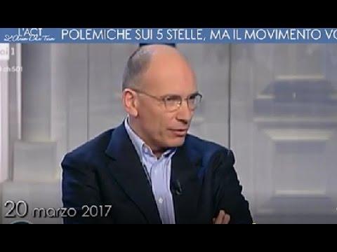 Enrico Letta stroca il Pd: M5s e Pd? Alla fine la gente sceglie quello originale