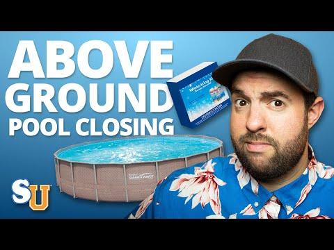 How to WINTERIZE An Above Ground POOL | Swim University