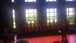 """BPS Spring Choral Concert - Cantabella singing """"Lineage by Andrea Ramsey"""