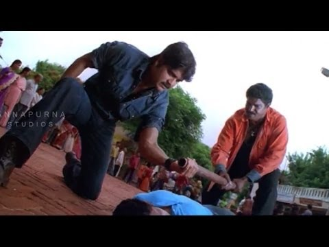 Nagarjana Action Scene    Mass Movie    Narajuna, Jyothika