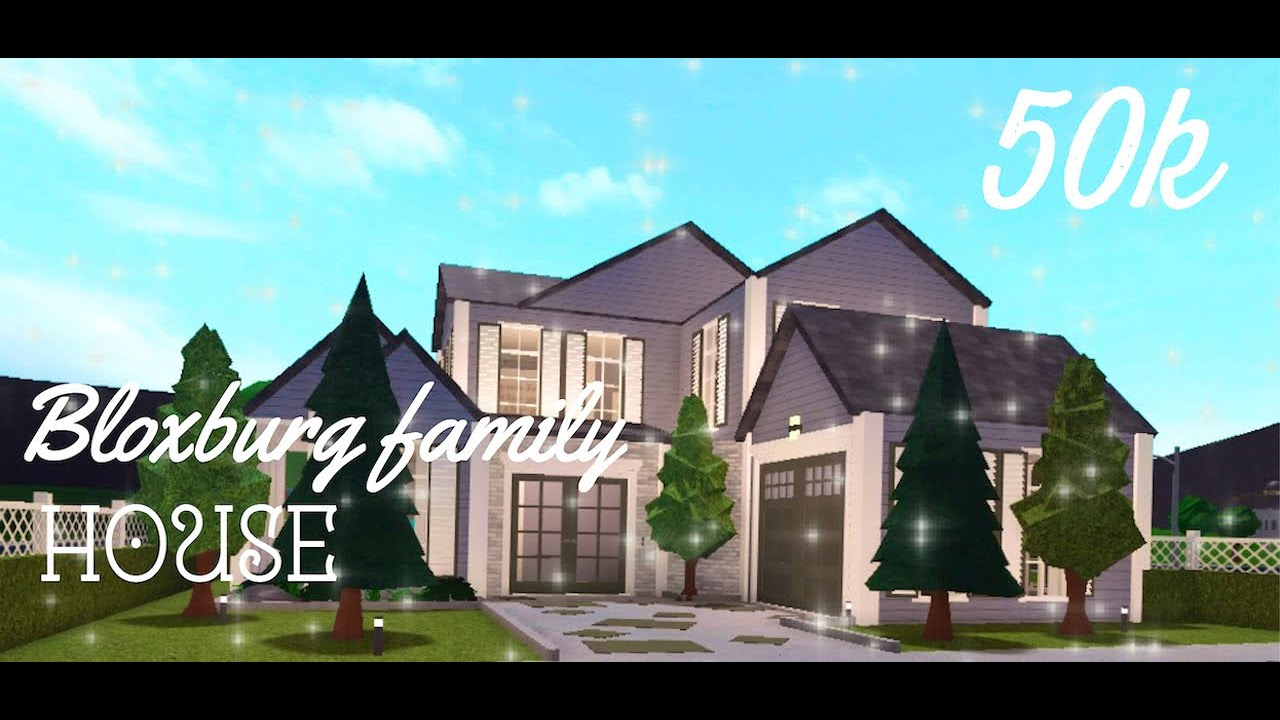 Family Roleplay House 50k Olixix Roblox Bloxburg Youtube