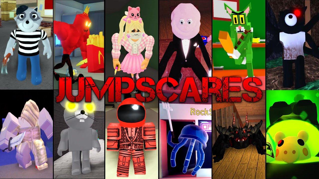 Piggy vs Bakon vs Guesty vs Kitty vs Spider vs Impostor vs Sponge & More Jumpscares + Kill Sounds 4